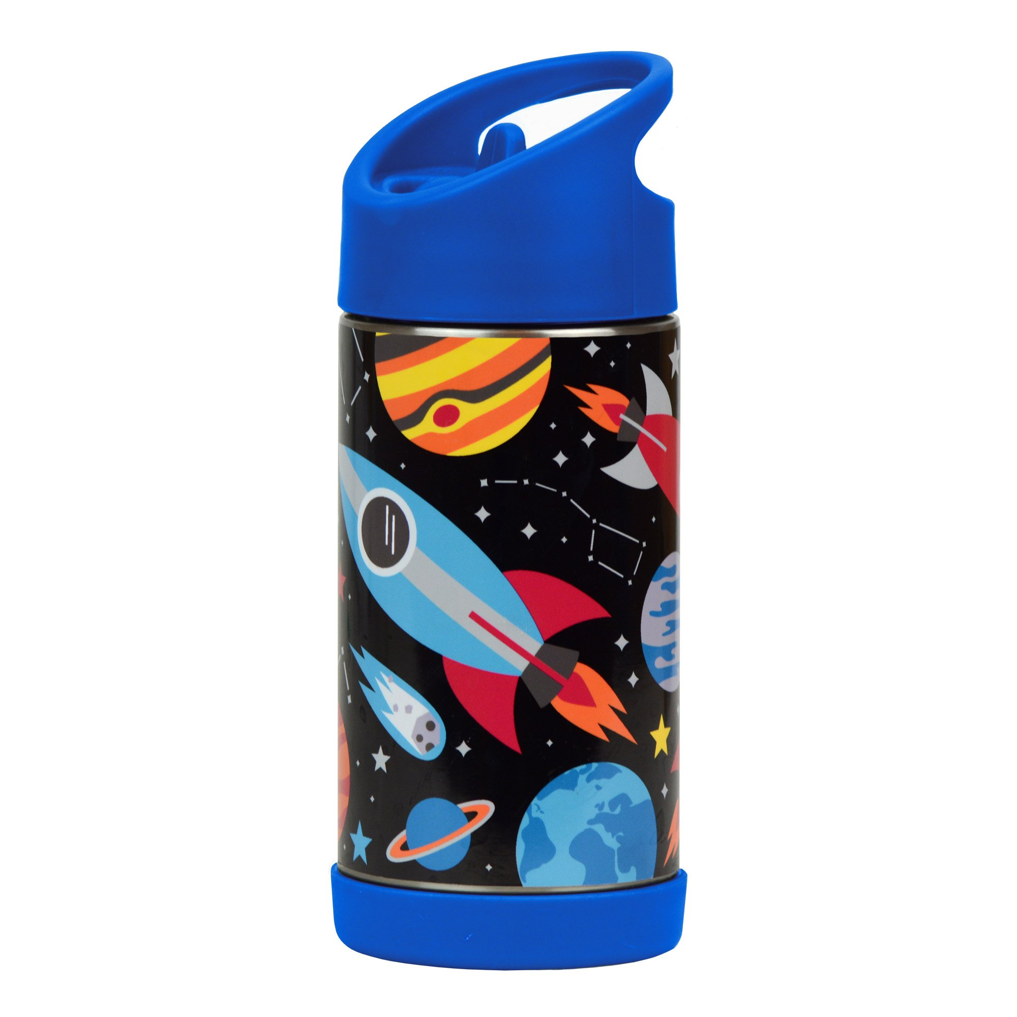 Petit Collage Insulated Stainless Steel Water Bottle Space