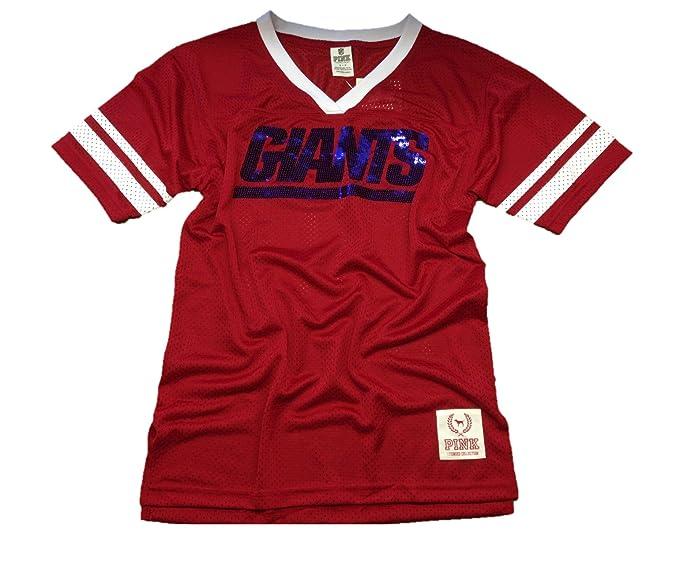 detailed look e347a 77567 Victoria's Secret PINK New York Giants Bling Jersey T-shirt ...