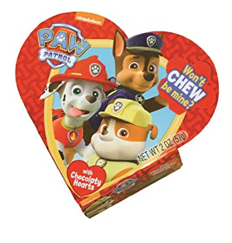 Amazon Com Nickelodeon Paw Patrol Valentines Day Heart Gift Box