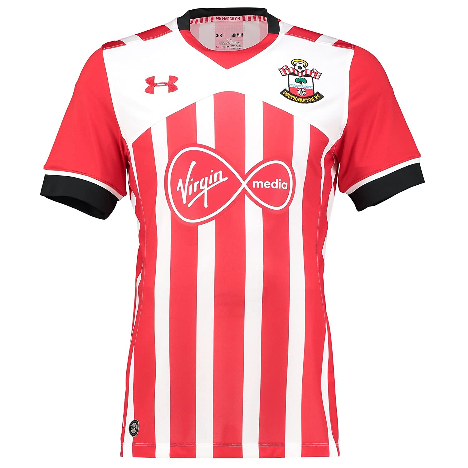 3bb74e2e435 Under Armour Southampton Home Shirt 2016 2017  Amazon.co.uk  Sports    Outdoors