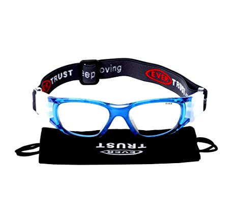 827aa1e830c EVERSPORT Kids Sports Goggles Safety Protective Basketball Glasses for  Children with Adjustable Strap for Basketball Football