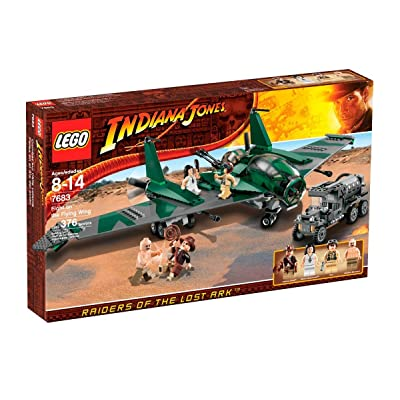 LEGO Indiana Jones Fight on the Flying Wing (7683) (Discontinued by manufacturer): Toys & Games