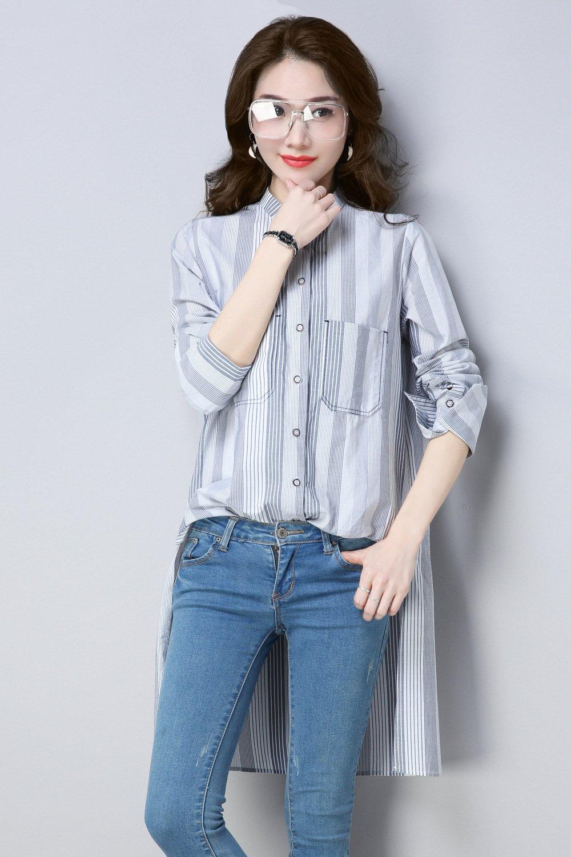 Mayihang Blusa Camisa Señoras llevan camisa blanca suelta el collar único muelle: Amazon.es: Deportes y aire libre