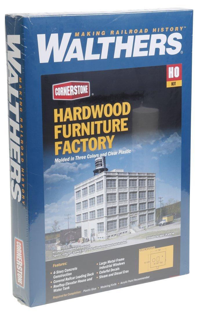割引発見 Walthers Structure Cornerstone HO Scale Hardwood Furniture Factory Structure Factory Kit Furniture B00CMK8JVI, Masters collection:9443609c --- a0267596.xsph.ru