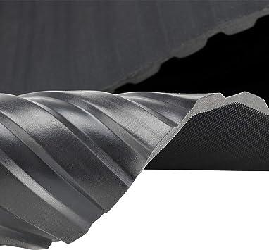 St/ärke: 3mm 1,5 x 2,00m 3m/² Noppenmatte Farbe: Schwarz