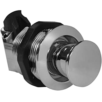 Pull To Open Chrome Push Button Latch