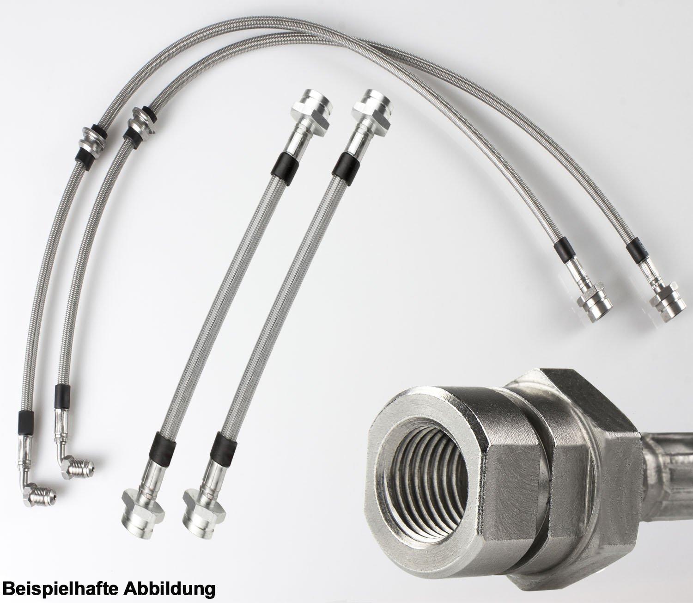 Stahlflex Bremsleitungen A4 Avant 8K5 V2A Edelstahl 177 PS Bj.2011- B8 2.0 TDI