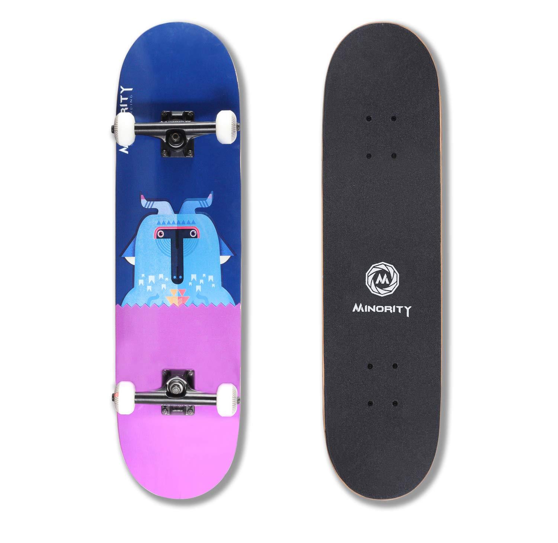MINORITY 32inch Maple Skateboard (Goat) by MINORITY