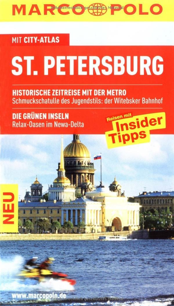 MARCO POLO Reiseführer St. Petersburg