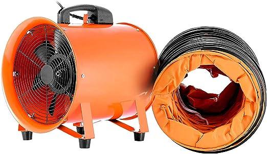 300MM Extractor Ventilador Portátil Industrial Aire Axial