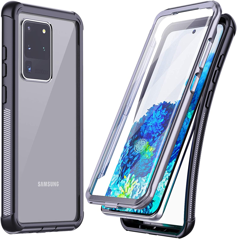 Temdan For Samsung Galaxy S20 Ultra Case Built Manual Guide