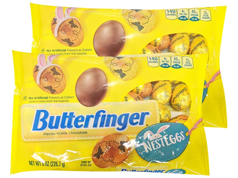 Nestle Butterfinger Nest Eggs 8 oz (Pack of 2)