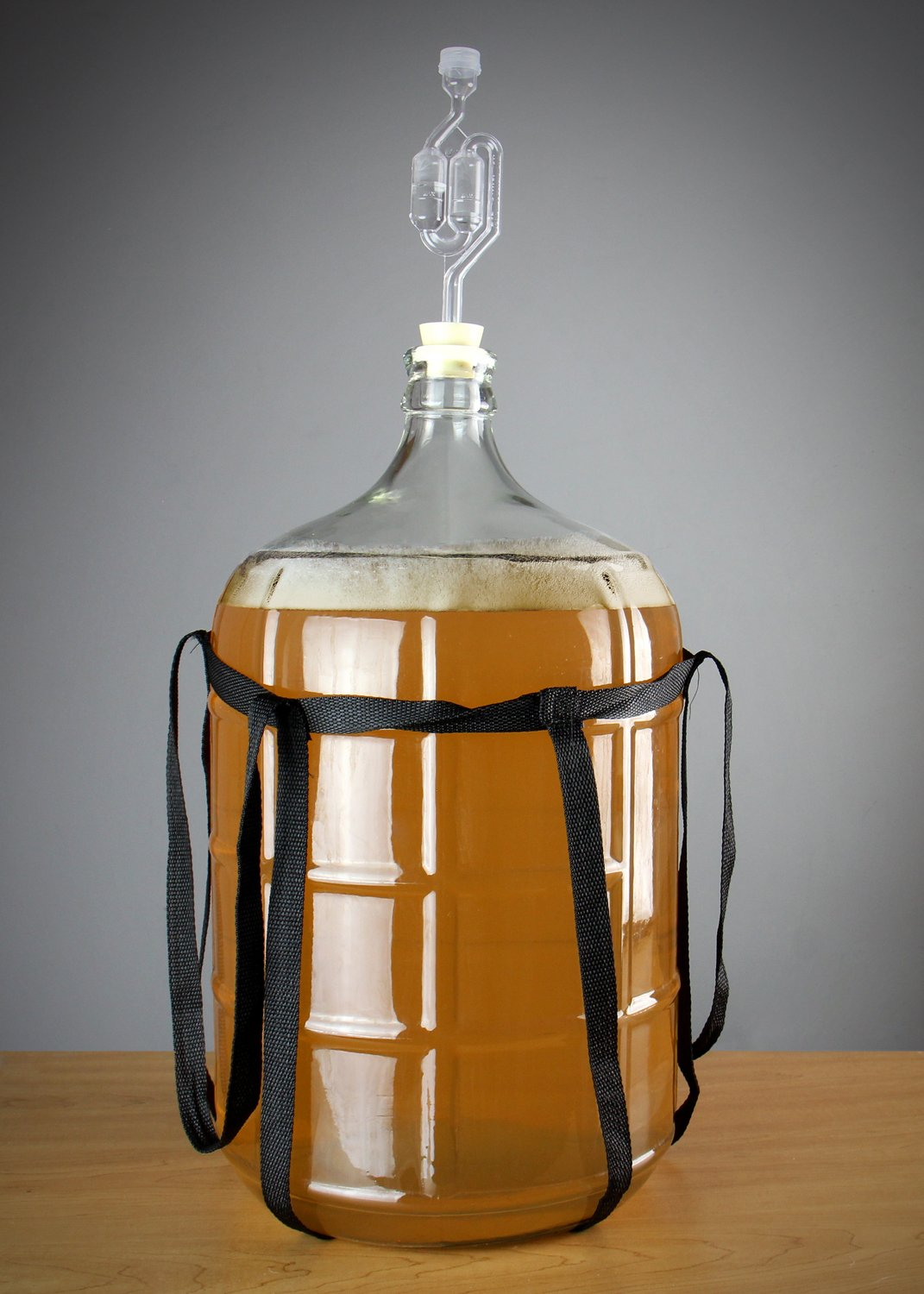 Beverage Factory KC FP-CB-06 Carboy, 6 gallon, Clear by Beverage Factory