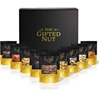 Gifted Nut Nuts Gift Box - Assorted Fresh Gourmet Nuts and Dried Fruit Gift Set - Elegant Design for Corporate Gifts…