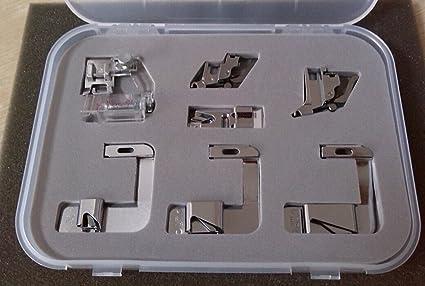 Honeysew Kit pour machine à coudre domestique Pfaff avec pied