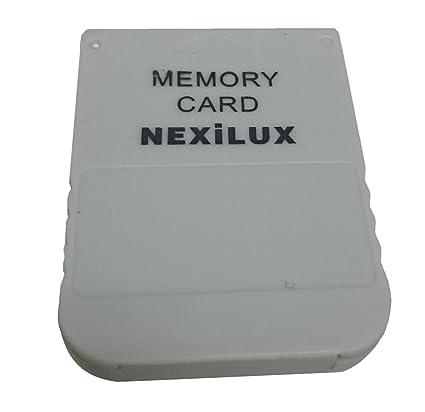 NEXiLUX Ps1 Playstation (Psx) Memory Card 1M NXL-PSX01
