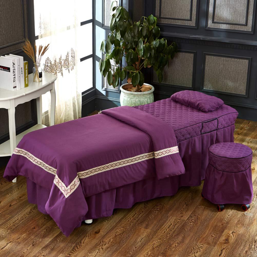 KE & LE Masaje Mesa de sábanas, Que Color Puro Corbata diseño ...
