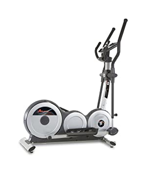 BH Fitness Atlantic Dual Bicicleta elíptica Unisex para Adulto, Color Blanco