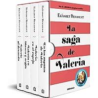 La saga de Valeria (edición pack): En los zapatos de Valeria | Valeria en el espejo | Valeria en blanco y negro…