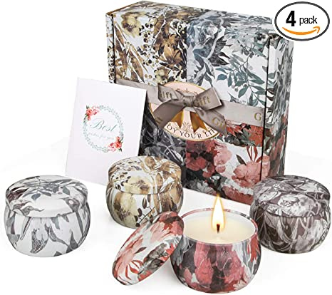 Luxurious Lavender Woods Soy Wax Candle Mothers Day Gift Set