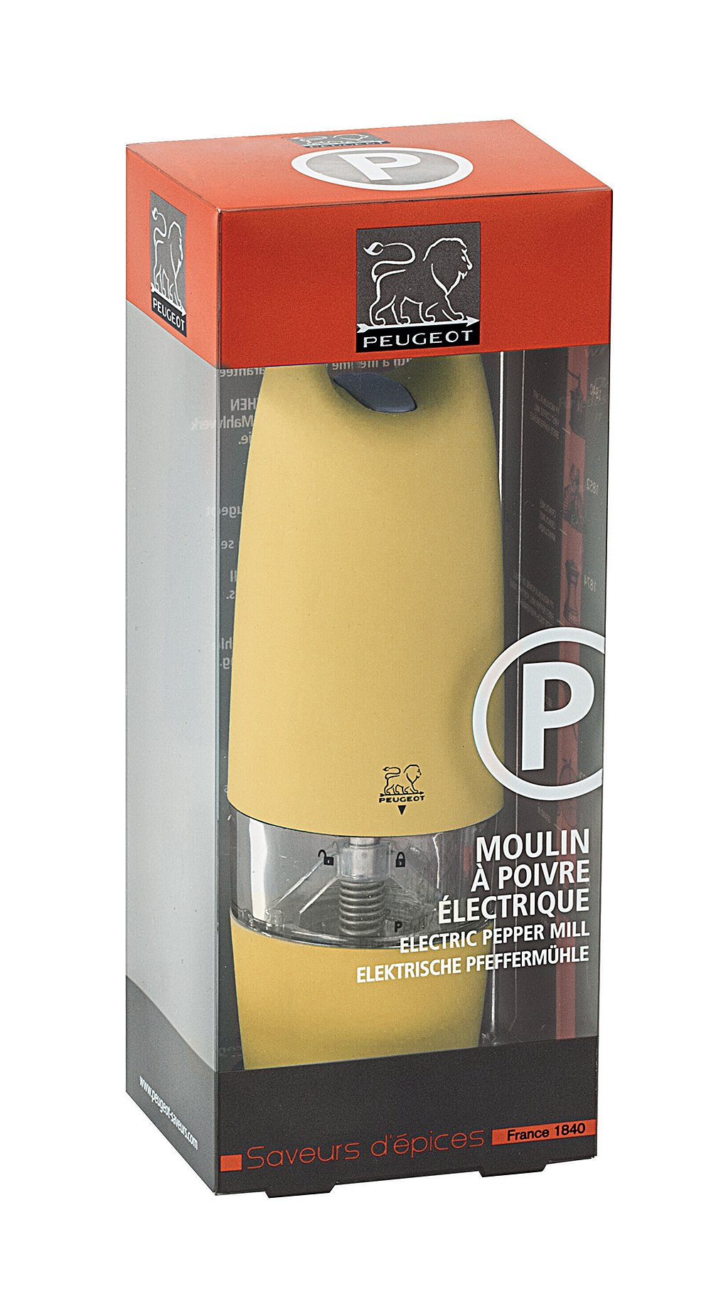 Pepper Mill Cm 18 Peugeot - Zest by Paderno (Image #3)