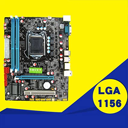 Amazon com: Ocamo P55 Motherboard CPU LGA 1156 Pin 2xDDR3