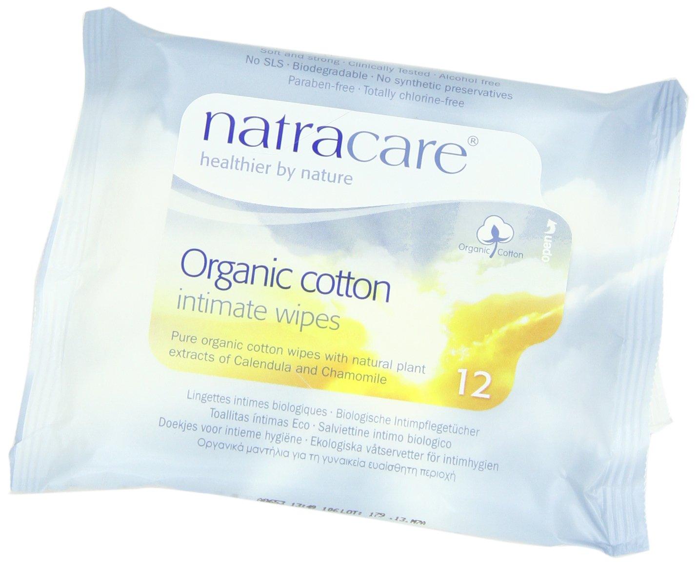 Natracare - Toallitas Higiene Íntima Femenina Natracare 12 uds: Amazon.es: Bebé