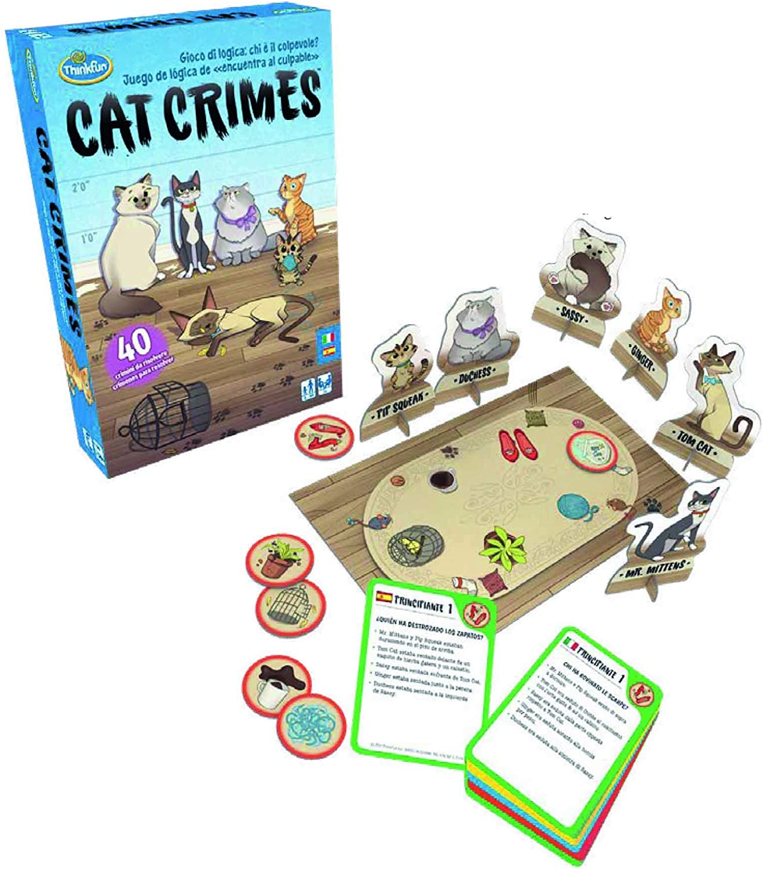 ThinkFun - Cat Crimes (Ravensburger 76367): Amazon.es: Juguetes y ...