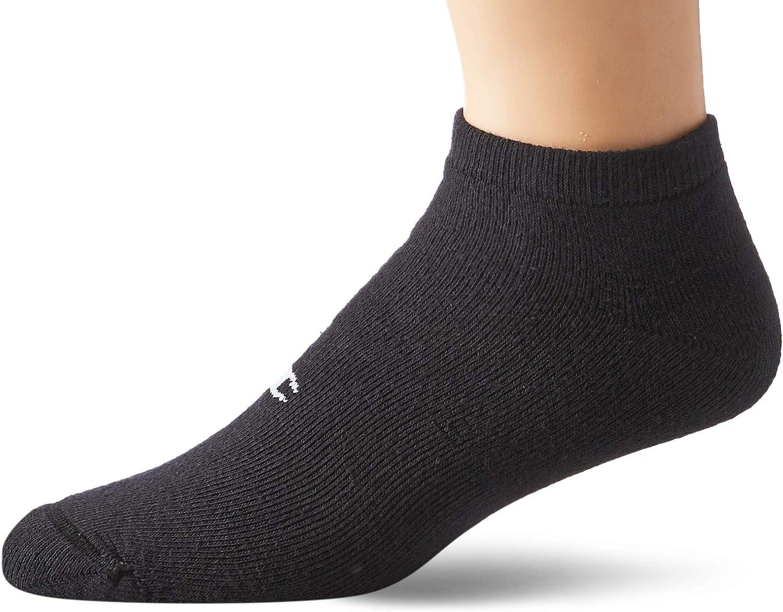 Double Dry 6-Pair Pack Cotton-Rich Low Cut Socks
