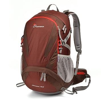 Mountaintop Mochilas de Marcha Impermeable .Mochila para Deportr Viaje Casual Mochila de escuela 40L 20,1*13,4*8,3 in: Amazon.es: Deportes y aire libre