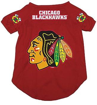 Amazon.com   Chicago Blackhawks Pet Dog Hockey Jersey LARGE   Pet Supplies a7c20a2cb