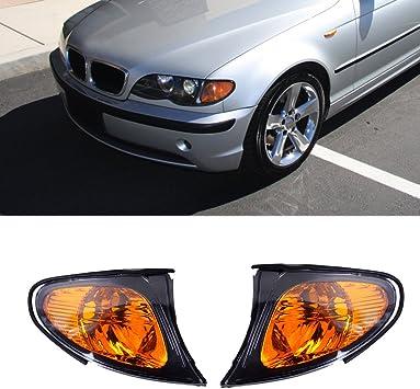 Ricoy Paar Für 2002 2005 E46 3 Serie 4 Türig Limousine Ecke Lights Gelb Objektiv Auto
