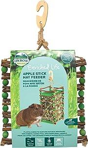 Oxbow Apple Stick Hay Feeder