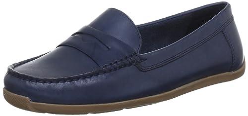 Clarks Hammond Way 20353835 - Mocasines para mujer, color azul, talla 38