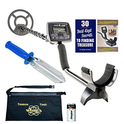 Amazon.com : Whites Coinmaster Metal Detector Diggers Special with Digging Trowel & Apron : Garden & Outdoor