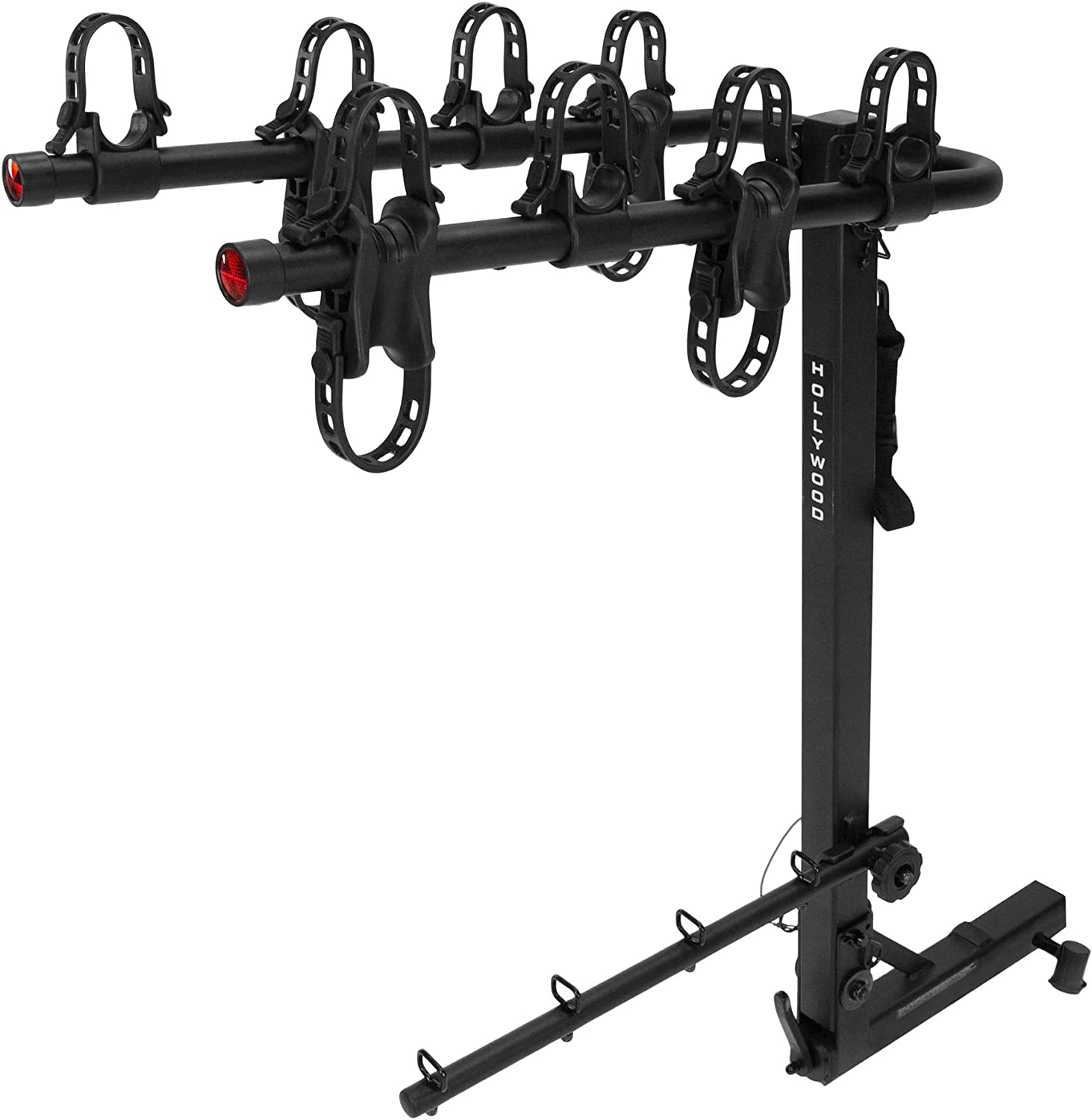 Hollywood Racks HR400 Road Runner 4-Bike Hitch Mount Rack 2-Inch Receiver
