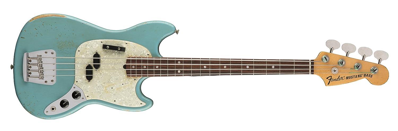 【最安値挑戦!】 Fender エレキベース エレキベース JMJ Mustang Bass®, Faded JMJ Daphne Blue Blue B078NJKKXC, 秋田天国:cff2716c --- choudeshwaripatpedhi.com