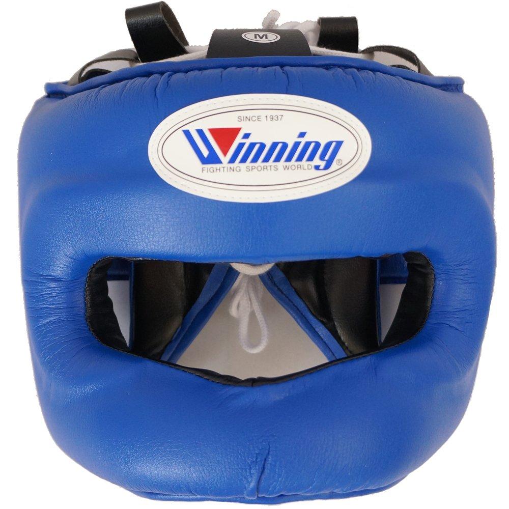 【Winning/ウイニング】 ヘッドギア フルフェイスタイプ ボクシング ウイニング プロテクター boxing headgear 青 Large