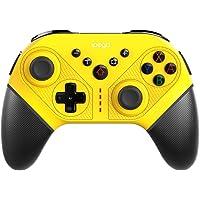Controle Bluetooth com fio zhiang para Nintendo Switch, joystick de jogo de vibração dupla com porta de type-c para PC…