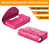 FYY Business card holder, Handmade Premium Leather