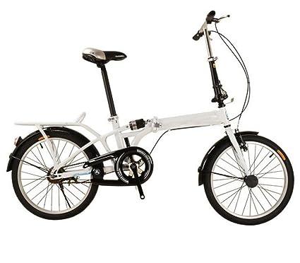 Suspensión Plegable De Bicicleta Bicicleta Plegable Portátil Bicicleta De Regalo Infantil 4S Para Niños,White