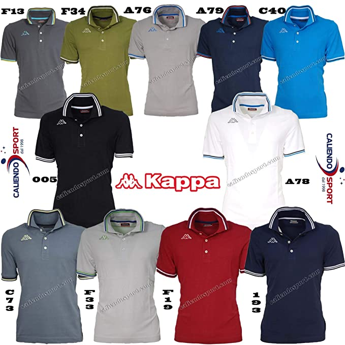 Kappa Polo Uomo Manica Corta F33 Primavera Estate 2018 XXL  Amazon.it   Abbigliamento 7fbda84f9f6