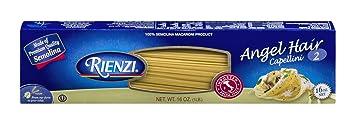 Amazon Com Rienzi Imported Italian Pasta 2 Angel Hair 16 Ounce