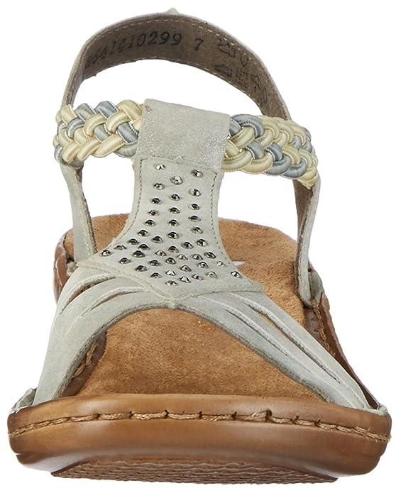 Rieker Damen 608y5 Offene Sandalen mit Keilabsatz: Rieker: Amazon.de:  Schuhe & Handtaschen