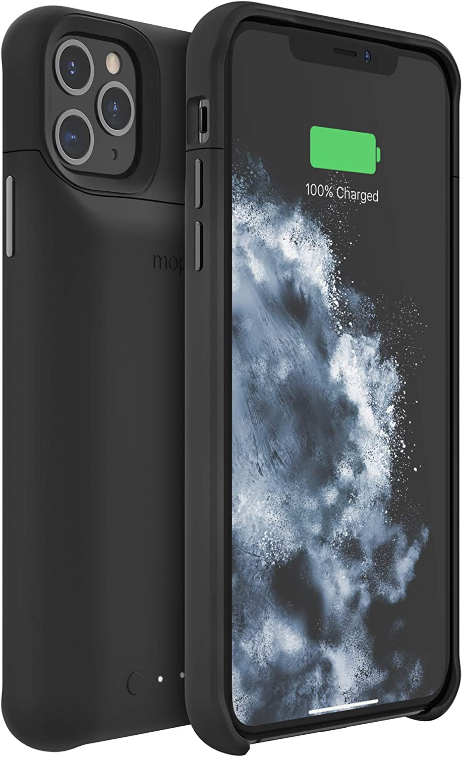 Amazon Com Mophie 401004407 Juice Pack Access Ultra Slim Wireless Charging Battery Case Made For Apple Iphone 11 Pro Max Black