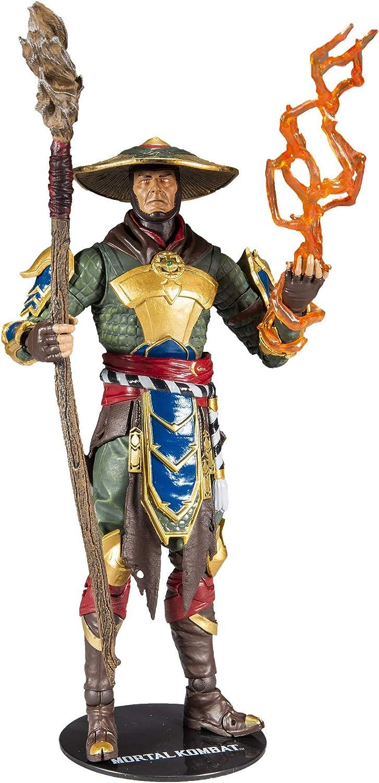 Amazon Com Mcfarlane Toys Mortal Kombat Raiden Action Figure