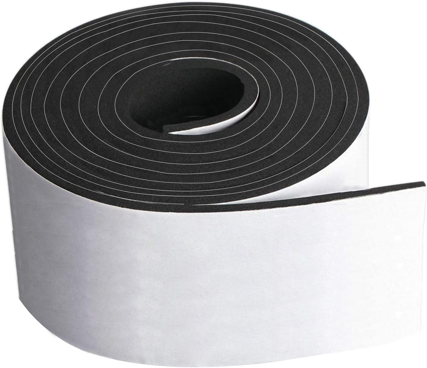 Neoprene Foam Strip Roll by Dualplex, 4