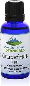 Grapefruit (Citrus Paradisi) Pink Essential Oil - 100% Pure Natural & Kosher - 1 fl oz Bottle