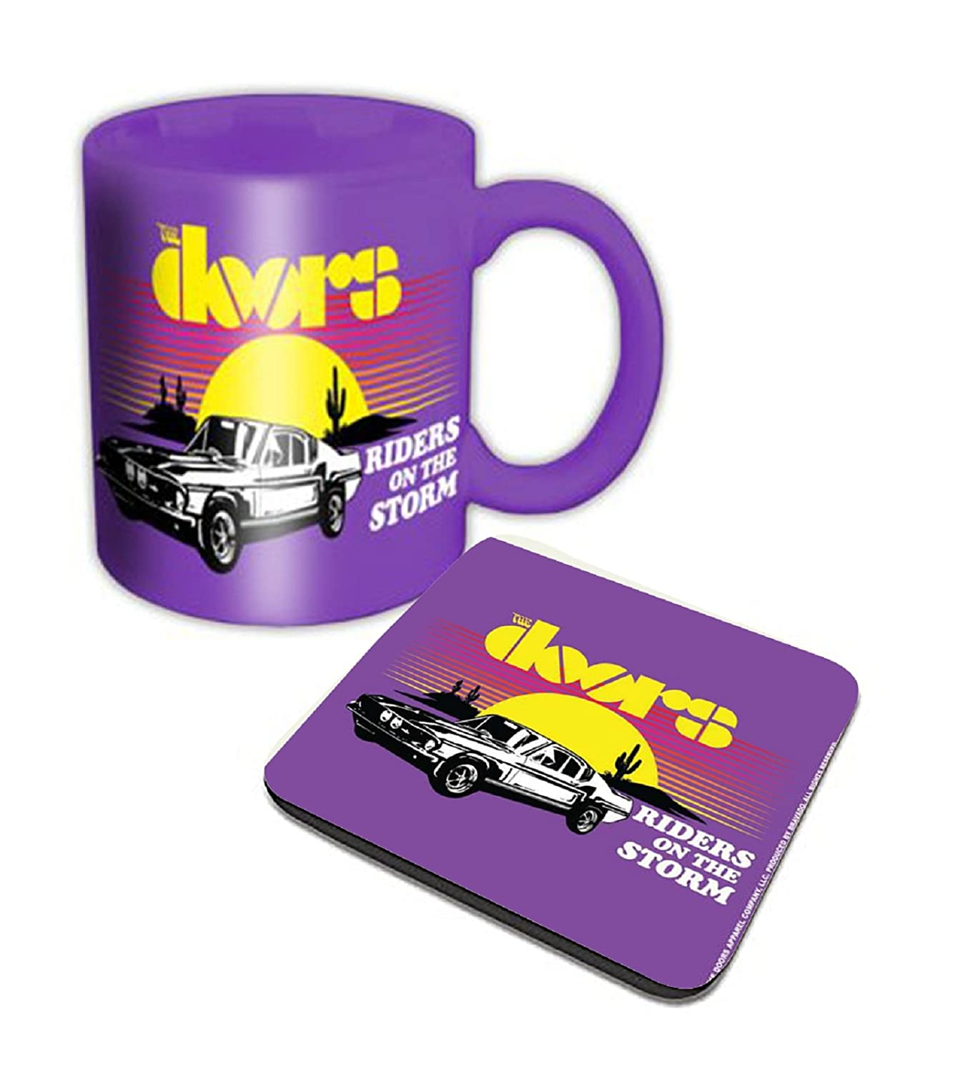 Amazon The Doors Mug And Coaster Riders On The Storm Official