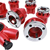 Ratchet Pipe Threader- 6 Piece Die Pipe Threading